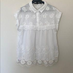 ZARA romantic blouse
